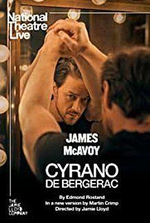 """Movie poster for """"CYRANO DE BERGERAC (NT LIVE)"""""""
