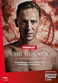 "Movie poster for ""Coriolanus (NT Live)"""