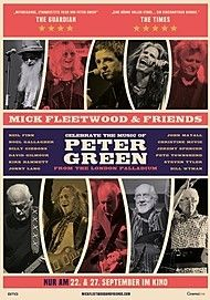 "Movie poster for ""MICK FLEETWOOD & FRIENDS CELEBRATE THE MUSIC OF PETER GREEN"""
