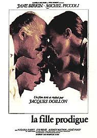 "Movie poster for ""LA FILLE PRODIGUE"""