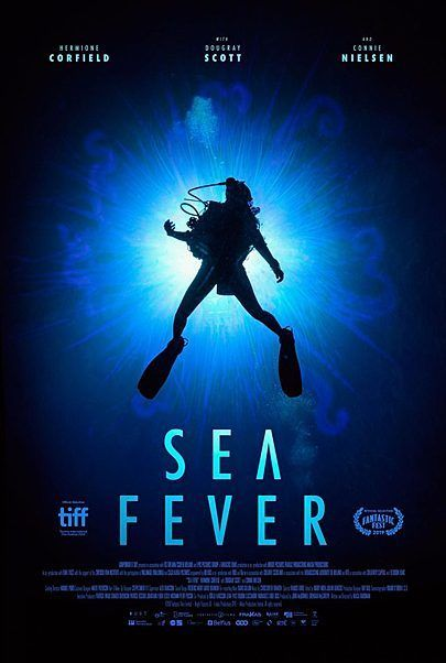 """Movie poster for """"SEA FEVER"""""""