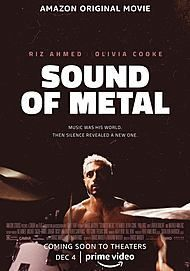 "Movie poster for ""SOUND OF METAL"""