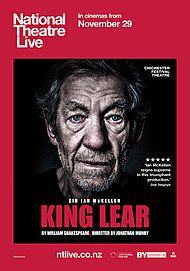 """Movie poster for """"KING LEAR (NT LIVE)"""""""