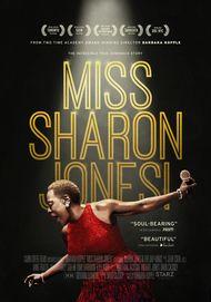 "Movie poster for ""MISS SHARON JONES!"""