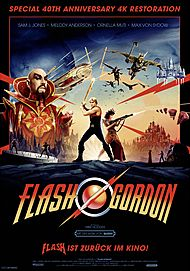 "Filmplakat für ""Flash Gordon"""