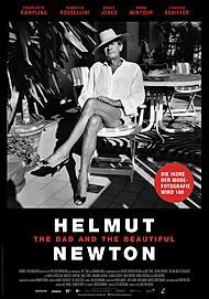 "Filmplakat für ""HELMUT NEWTON - THE BAD AND THE BEAUTIFUL"""