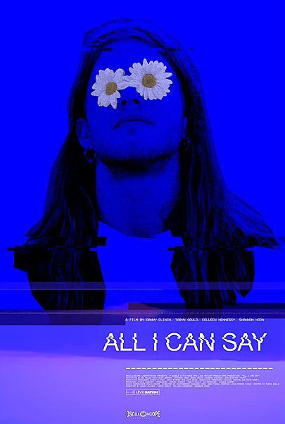 """Movie poster for """"ALL I CAN SAY"""""""