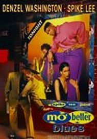 """Movie poster for """"MO' BETTER BLUES"""""""