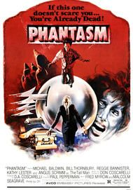 "Movie poster for ""PHANTASM REMASTERED"""