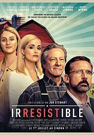 "Movie poster for ""IRRESISTIBLE"""