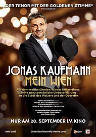 """Filmplakat für """"Jonas Kaufmann: Mein Wien"""""""