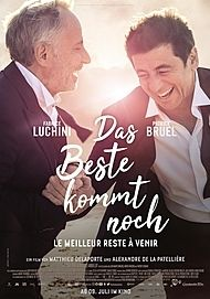 "Movie poster for ""LE MEILLEURE RESTE À VENIR """