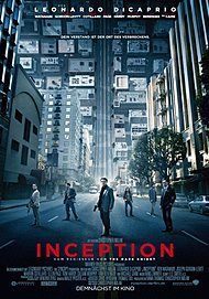 "Filmplakat für ""INCEPTION"""