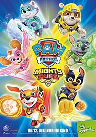 "Movie poster for ""PAW PATROL: MIGHTY PUPS - THE MOVIE"""