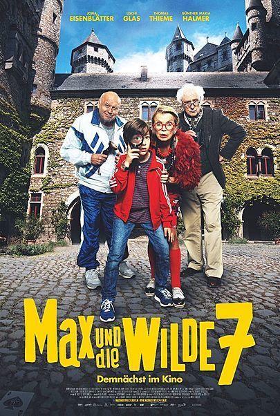 """Filmplakat für """"MAX UND DIE WILDE 7"""""""
