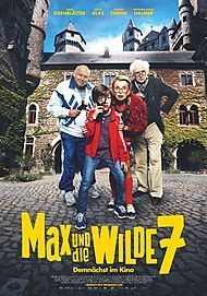 "Movie poster for ""MAX UND DIE WILDE 7"""