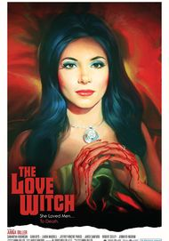 "Movie poster for ""THE LOVE WITCH"""