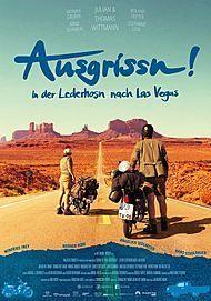 """Movie poster for """"Ausgrissn! In der Lederhosn nach Las Vegas"""""""