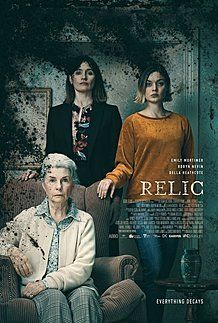 "Movie poster for ""RELIC"""