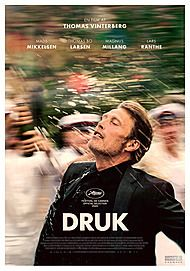 """Movie poster for """"DRUK"""""""