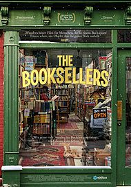 "Movie poster for ""THE BOOKSELLERS"""