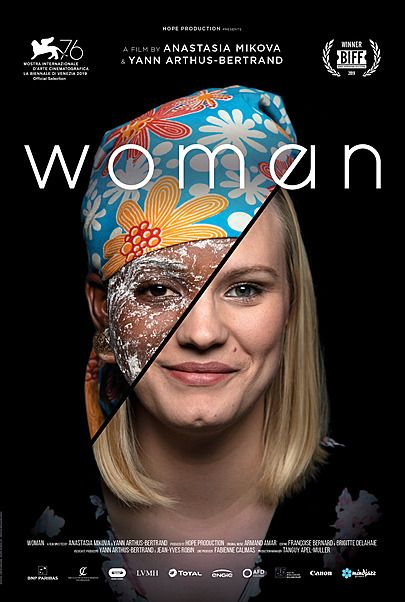 """Movie poster for """"WOMAN"""""""
