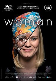 "Movie poster for ""WOMAN"""