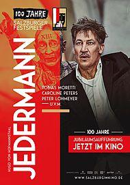 """Filmplakat für """"SALZBURGER FESTSPIELE LIVE: JEDERMANN (2020) """""""