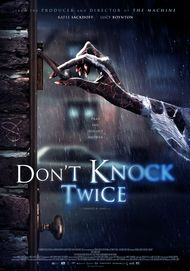 "Movie poster for ""DON'T KNOCK TWICE"""
