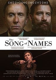 "Movie poster for ""THE SONG OF NAMES"""