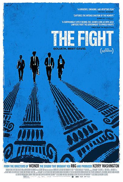"""Movie poster for """"THE FIGHT"""""""