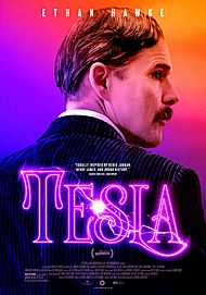 "Movie poster for ""TESLA"""