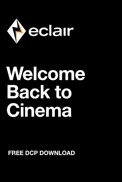 """Movie poster for """"Welcome Back to Cinema"""""""
