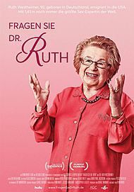 """Movie poster for """" Ask Dr. Ruth"""""""