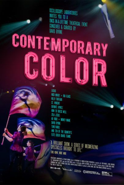 "Movie poster for ""CONTEMPORARY COLOR"""
