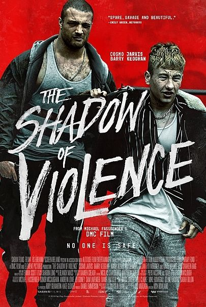 """Movie poster for """"THE SHADOW OF VIOLENCE"""""""