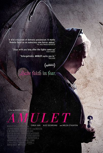 "Movie poster for ""AMULET"""