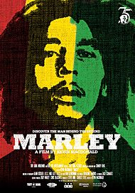 "Movie poster for ""MARLEY"""