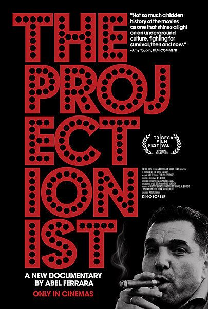 """Movie poster for """"THE PROJECTIONIST"""""""
