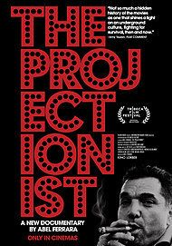 "Movie poster for ""THE PROJECTIONIST"""