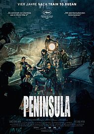 """Movie poster for """"PENINSULA"""""""