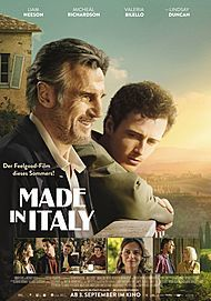 "Movie poster for ""MADE IN ITALY"""