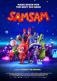 "Movie poster for ""SAMSAM"""