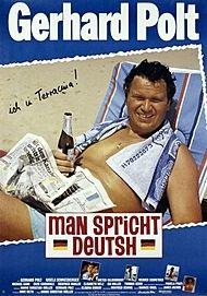 """Filmplakat für """"MAN SPRICHT DEUTSH"""""""