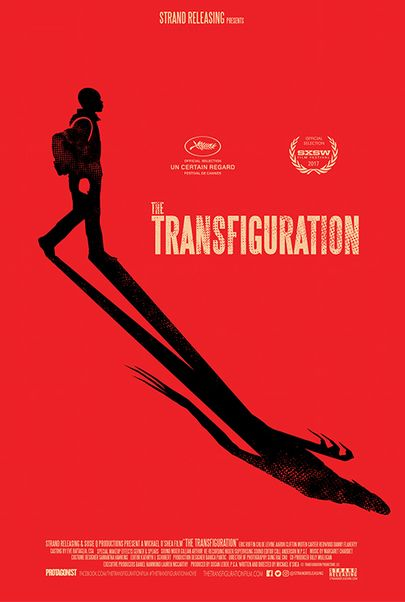 """Movie poster for """"THE TRANSFIGURATION"""""""
