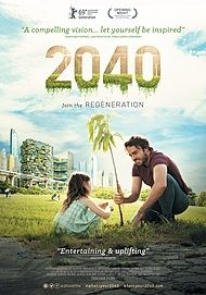 "Movie poster for ""2040"""