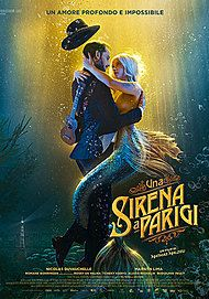 "Movie poster for ""Una Sirena A Parigi"""