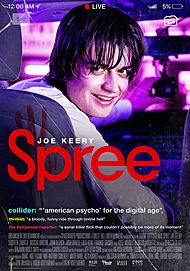 "Movie poster for ""SPREE"""
