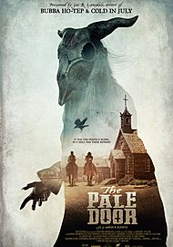 "Movie poster for ""THE PALE DOOR"""