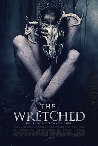"""Movie poster for """"THE  WRETCHED"""""""